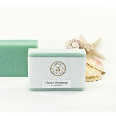 Ocean Seaspray Soap Ocean Air Scent, Luxury Beach Soap, Vegan Cold... ($6) via Polyvore featuring beauty products, bath & body products, body cleansers and seaspray