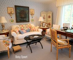 New England Homes Traditional Living Rooms And English Country Decor