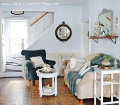 Creating a Cozy Home at Town and Country Living