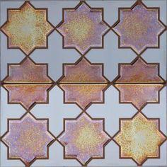 La imagen muestra dos azulejos de 14x28