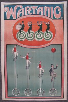 1920s Russian Early Soviet Circus Carnival Art Poster   eBay