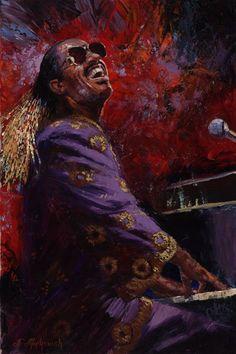 Nenad Mirkovich 1951 | Serbian painter | Music playing | Tutt'Art@