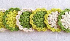 Pistachio Cotton Coasters 1