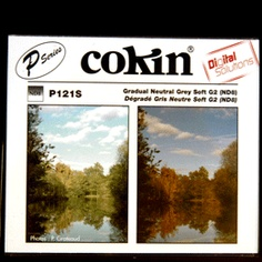 Cokin P121S 85mm P Series 0.9 ND8 3 Stop Soft Grad Filter - Fits Hitech & Kood