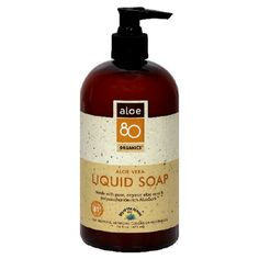 Lily of the Desert Aloe 80 Organics Liquid Soap Aloe Vera 16Ounces Pack of 3 * See this great product. (Note:Amazon affiliate link)