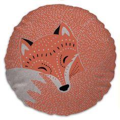 fox cushion by solitaire @meghan harron