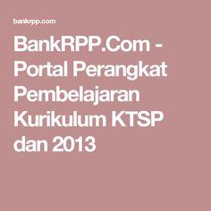 BankRPP.Com - Portal Perangkat Pembelajaran Kurikulum KTSP dan 2013