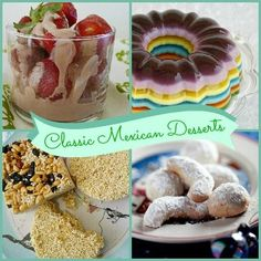 Classic Mexican Desserts