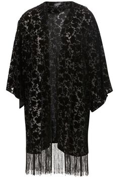 Fringe Devore Kimono