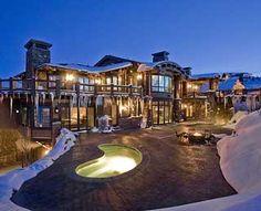 The Ski Dream Home, Park City, UT (Best Hotel Hot Tubs)