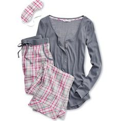 Sleepwear & Robes Women's Clothing Set Victorias Secret Pink White Pajamas Small Tall Sleep Pants Firm In Structure