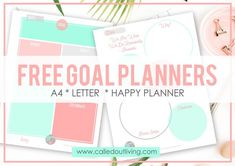 10 Success habits for 2018 + Free Goal Planner - Called Out Living Arc Planner, Goals Planner, Life Planner, Happy Planner, Planner Ideas, Printable Planner, Free Printables, Create Your Own Planner, Goal Setting Worksheet