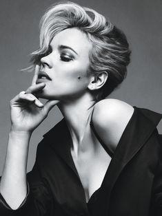 Rachel McAdams. Photograph by Sebastian Kim, W Magazine June 2011. Meet more of Woody Allen's movie muses here.