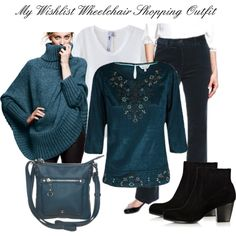 """My Wishlist Wheelchair Shopping Outfit"" by mozeemo on Polyvore"