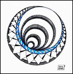 "Zapletkano: Weekly Challenge #74: ""String Theory v. X: Eccentric Circles"" by HELena"