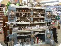 Wendy Addison's gorgeous collection ~ store display at Tinsel Trading CO. NYC
