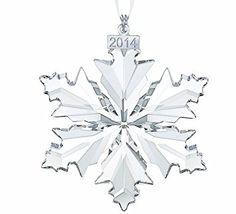 Swarovski Christmas ornament 2014