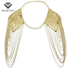 Available Now on our store:  Body Chain Neckla... Check it out here ! http://mamirsexpress.com/products/body-chain-necklaces-alloy-collar-shoulder-chain-long-necklaces-pendants-women-sexy-statement-body-jewelry?utm_campaign=social_autopilot&utm_source=pin&utm_medium=pin