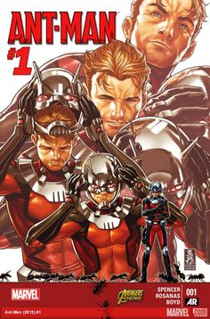 Marvel is working very hard this week to make sure you know who Ant-Man is.