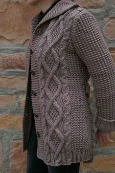 Ravelry: Nell pattern by Kim Hargreaves Knitting Paterns, Knitting Stitches, Knitting Designs, Hand Knitting, Modern Crochet Patterns, Knit Patterns, Baby Cardigan Knitting Pattern, Knitted Coat, Knitting Accessories