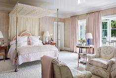 40 Best Bedroom Ideas - Beautiful Bedroom Decorating Tips Pale Pink Bedrooms, Pink Master Bedroom, Baby Bedroom, Closet Bedroom, Master Suite, Bedroom Decorating Tips, Bedroom Ideas, Bedroom Colour Palette, Hotel Room Design