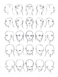 Drawing male and female faces, drawing a human body (drawing fa . - Male and female face drawing, human body drawing (drawing fa …- - Human Body Drawing, Human Figure Drawing, Figure Drawing Reference, Anatomy Reference, Art Reference Poses, Manga Drawing, Face Reference, Drawing Men Face, Face Profile Drawing