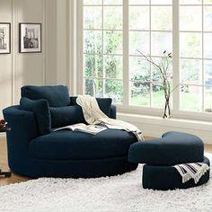 This chair looks SOOOOO comfy!! Asha Cuddler Chair from ...