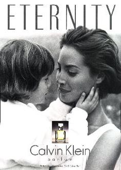 Eternity by Calvin Klein with Christy Turlington