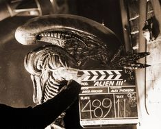 Behind the scenes on production of #Alien 3 (1992).