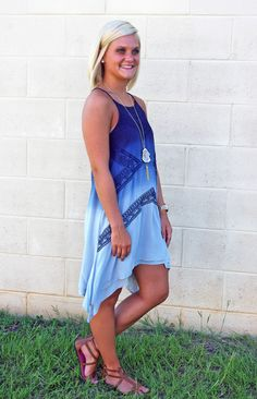 Ombré Obsessed Dress - Southern Flair Boutique