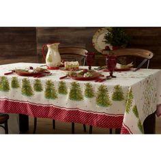 "The Pioneer Woman Tree Tablecloth, 60"" x 120"" - Walmart.com"