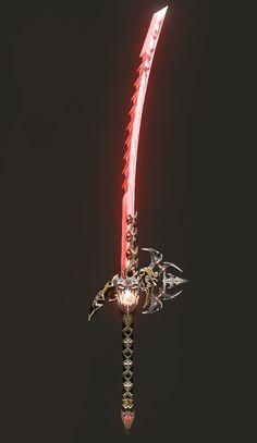 관련 이미지 Fantasy Sword, Fantasy Weapons, Fantasy Art, Dao Sword, Elemental Powers, Cool Swords, Sword Design, Object Drawing, Anime Weapons