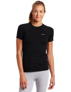 Columbia Sportswear Women's Baselayer Midweight Short Sleeve Top, Small, Black Columbia,http://www.amazon.com/dp/B0059DEPRC/ref=cm_sw_r_pi_dp_uJRrrb1B9RCP4MZ7