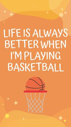 Can't deny that life is always better when playing basketball! #basketball #bball #drdishbasketball #basketballquotes #basketballmotivation #fitnessmotivation #wallpaper #sports #basketballballs #basketballnet #ballislife