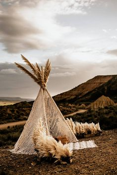 Ready to ship macrame wedding tepee. This beautiful handmade teepee made with cotton rope. Please note, we are ONLY providing the textile handmade macrame tepee (the wooden parts are not included) Tepee Wedding, Wedding Trends, Wedding Styles, Deco Champetre, Photos Booth, Indian Wedding Decorations, Event Decor, Backdrops, Backdrop Ideas