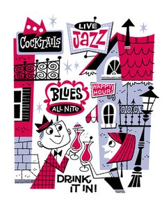Derek Art - Illustration, Serigraphs, Paintings, and Tiki Mugs - Illustration