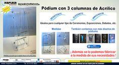 Lanzamiento del Nuevo Pódium de 3 Columnas de Acrílico http://maplasa-marketing.com/_eme_viewonline?k=1a825117f0&e=diseno@maplasa.com&m=322