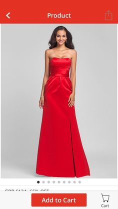Http://www.lightinthebox.com/A Line Strapless Empire Floor Length Satin Bridesmaid Dress_p171822.html    Evening Gowns   Pinterest   Empire, Satin And Gowns