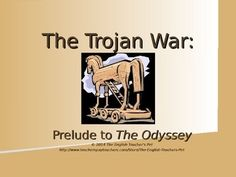 In need of supplementary material for Homer's classic Greek epic, The Odyssey?  Included is a 12 slide Introduction PowerPoint outlining in brief the Trojan War, as seen in the Iliad. There are also prelude introduction slides to your Odyssey Unit that explain Odysseus' angering Poseidon and Athena's help that introduce Homer's The Odyssey for you. This is not a PowerPoint for teaching The Iliad; it is meant to be taught as an introduction to The Odyssey.  Grades 6-12. $