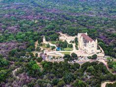 Burnet, Texas    Falkenstein Castle offers several wedding packages, and only schedules one event per weekend to provide an intimate and personal experience. The structure was modeled after the Neuschwanstein Castle in Germany, which in turn served as the inspiration for Disneyland's Sleeping Beauty Castle—so if you want a stateside Disney wedding, this is your best bet.