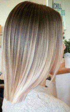 Balayage Straight Hair, Short Straight Hair, Short Hair Cuts, Straight Hairstyles, Short Hair Styles, Short Hair Colors, Short Balayage, Ombre Hair Color, Hair Color Balayage