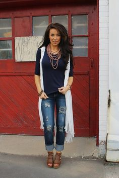 Vest Avery Boyfriend Jean Size 6-24 from Paisley Grace Boutique