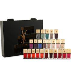 YVES SAINT LAURENT - Limited Edition La laque nail varnish 24 piece collection | Selfridges.com