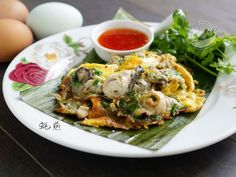 A taste of memories -- Echo's Kitchen: 【蚝煎】Fried Oyster Omelette (Or Luak/ Or Chien)