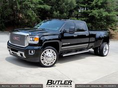 GMC Denali 3500 Dually with 24in American Force Shift Wheels | Flickr - Photo Sharing!