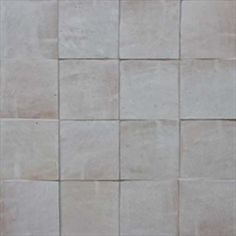 Fez Tiles from Morocco in Desert White Color, 4 inch by 4 inch square tiles