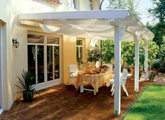 Backyard, Patio, Next At Home, Great Rooms, Beach House, Pergola, Porch, Exterior, Outdoor Structures