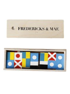 Refinery29 Shops: Fredericks & Mae -Flag Dominoes