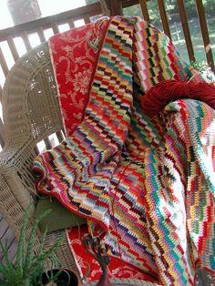 Scrappy steps afghan. Pattern here http://www.freewebs.com/bethintx/scrappystepsafghan.htm