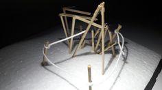 Space for active body : model eksplorasi 1:20 (8) | annisa chusnul muasaroh, kelompok 4 kelas 2